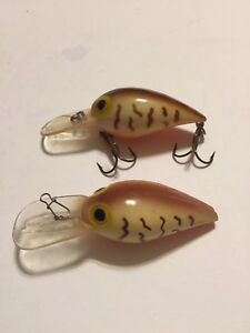 Storm Wiggle Wart Lures Pre Rapala Lot Of Two
