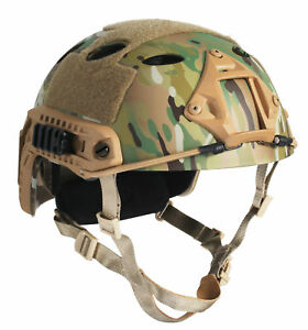 OneTigris Tactical Airsoft Fast PJ Airsoft Helmet MICH 2002 Action Version MC