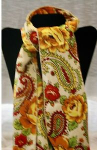 Jimi Hendrix owned & worn flowered scarf  Bob&Kathy Levine collection