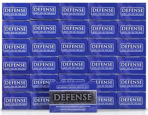 Defense Soap 4 Ounce Bar (Pack of 30) - 100% Natural Tea Tree Oil and Eucalyp...