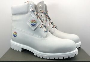 TIMBERLAND MENS LIMITED RELEASE RAINBOW WHITE 6