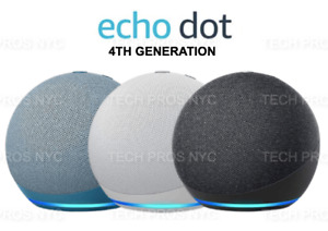 NEW Amazon Echo Dot 3rd Generation w Alexa- Charcoal  Sandstone  Heather Gray