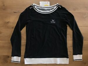 Under Armour Charged Cotton Valhalla Golf Club LS Womens Pullover Sweater SZ M $14.39