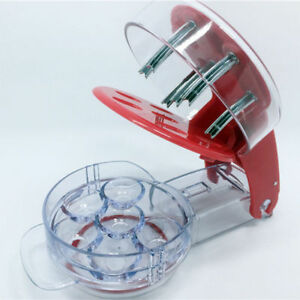 Kitchen Tool Cherry Pitter Stone Remover Machine Cherry Corer Container 4516