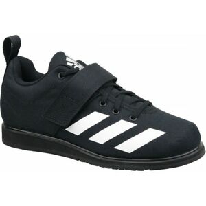 Mens Adidas Powerlift 4 Black Weightlifting Athletic Sport Shoe BC0343 Size 8-14