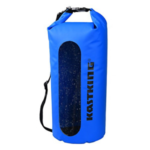 KastKing Waterproof Dry Bag 10L20L30L Roll Top Sack for Kayaking Camping to