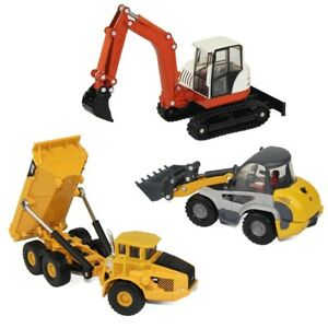 Metal Model Vehicles Heavy Duty Construction Site PlaySet For Toddlers Boys Kids