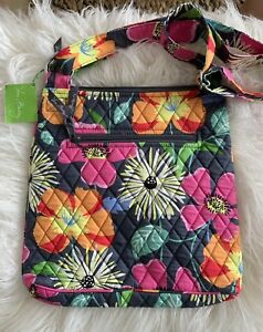 Vera Bradley - Hipster - Jazzy Blooms - Cross Body Bag  Purse Adjustable Strap