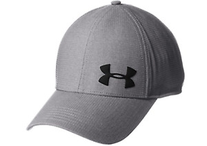 Under Armour Air Vent Core Caps Training Hat Gray Running GYM Cap 1291857-040