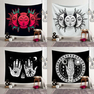 Indian Mandala Tapestry Retro Wall Hanging Decor Astrology Divination Beach Mat