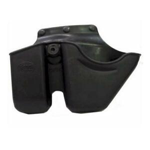 Fobus CU9GSBH Double Stack Magazine and Handcuff Roto Belt Holder Polymer Black