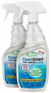 CleanSmart Daily Surface Cleaner Home Use and CPAPs. Kills 99.9% of Bacteria...