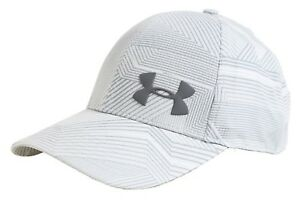 Under Armour Air Vent Core Caps Training Hat Gray Running GYM Cap 1291857-103