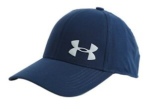 Under Armour Air Vent Core Caps Training Hat Navy Running GYM Cap 1291857-409