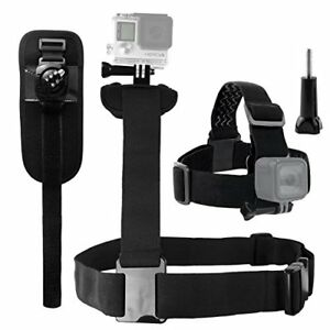 CamKix Body Mount Bundle compatible with Gopro Hero 7 6 5 Black Session ...