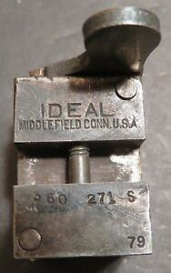 Vintage Ideal .38 Caliber S&W 360271-S Bullet Mould Mold for Early Guns