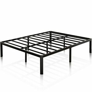 Zinus 16 Inch Metal Platform Bed Frame with Steel  Assorted Styles  Sizes