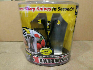 Knife Sharpener Bavarian Edge As Seen On TV Tungsten Carbide NEW Unopened