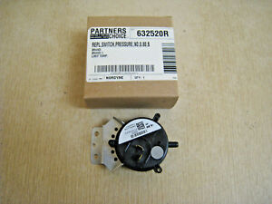 NEW Nordyne Furnace Pressure Switch 632520R 1 Single Stage .80