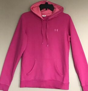 *UNDER ARMOUR* Pink HOODIE Women's Small $12.99