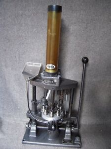 Ponsness Warren Size-O-Matic 900 Shot Shell Reloading Press in 28 ga.