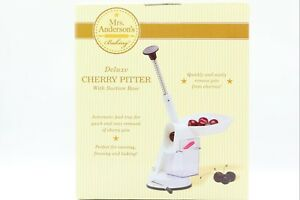 Mrs. Andersons Baking Deluxe - Cherry Pitter With Suction Base.