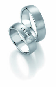 Wedding Rings Breuning Platinum Design Collection 90809081 in Platinum 950
