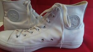 Converse Chuck Taylor All Star Leather High Top Men Shoes size 11