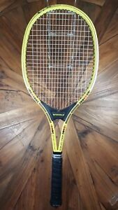 Volkl World Cup MS 24 Tennis Racquet Yellow Torsionskasten Construction Used