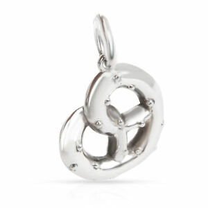Tiffany & Co. NY Pretzel Charm in  Sterling Silver
