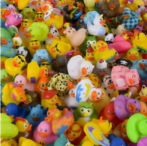 20 Rubber Duck Ducky Duckie Baby Shower Birthday Party Rubber 2quot; X 2quot; Bulk USA