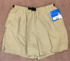 Brooks Womens Ripstop Green Tea Cargo Running Workout Shorts Size Large NWT!