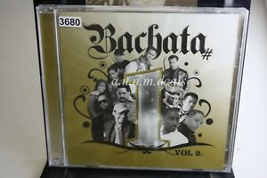 Various Artists - Artistas Bachata # 1's Vol. 2 by Various 2008 Music CD (NEW)