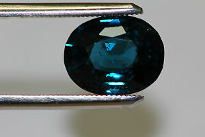 NATURAL BLUE SPINEL FROM TANZANIA VERYRARE 5CTS PLUS OVAL UNHEAT COLLECTORS ITEM