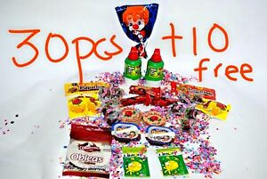 Mexican Candy Mix 30 Pcs plus 10 Extra free of Fresh  Candies