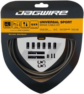 Jagwire Universal Sport Brake Cable Kit Carbon Silver $21.99