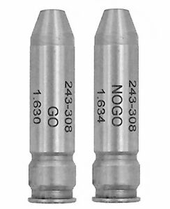 New Forster 308 Winchester GO  NO-GO Headspace Gauge Set