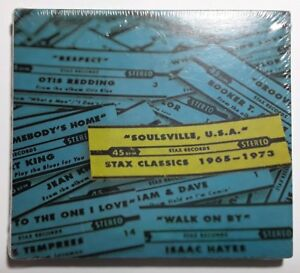 Soulsville USA Stax Classics 1965-1973 CD Booker T Otis Redding Isaac Hayes