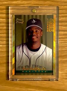 **^ RARE 1997 DONRUSS STUDIO GOLD PRESS PROOF #16 KEN GRIFFEY JR.