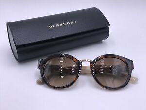 BURBERRY B4227 360113 Designer Brown Brown Gradient AUTHENTIC  Italy 50-21 140