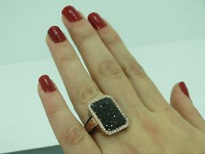 Turkish Handmade Jewelry 925 Sterling Silver Onyx Stone Ladies' Ring Sz 8