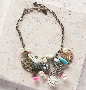 Plunder Jewelry Alexis Statement Bib Necklace NIB