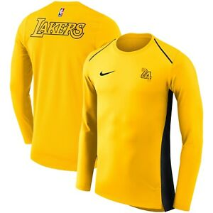 Nike Dri-FIT Los Angeles Lakers City Edition Hyperelite Long Sleeve Court Shirt