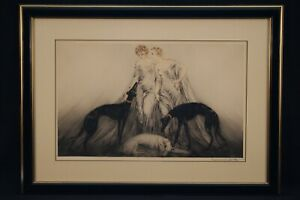 Louis Icart 220 Piece Collection For Sale