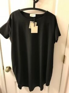NWT special design Women Vicolo Made in Italy Black dress DOM ITP size L