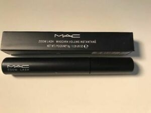 MAC ZOOM LASH MASCARA ~ ZOOM BLACK ~ FULL SIZE NEW IN BOX SHIPS FREE