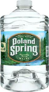 POLAND SPRING-Water, Pack of 6 ( 3 LTR )