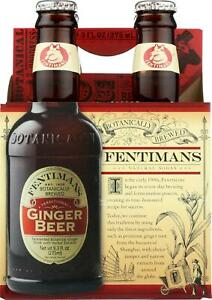 Fentimans North America Inc Ginger Beer Pack of 24 9.3 FZ