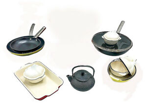 Le Chef 17-Piece All Enameled Cast Iron Cookware Set. (Multi-Colored, ORMX5.)