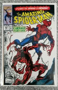 The Amazing Spider-Man #361 CARNAGE 1st appearance  1st print (Apr 1992 Marvel)